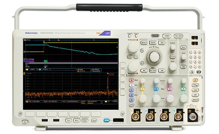 MDO4000C 混合域示波器