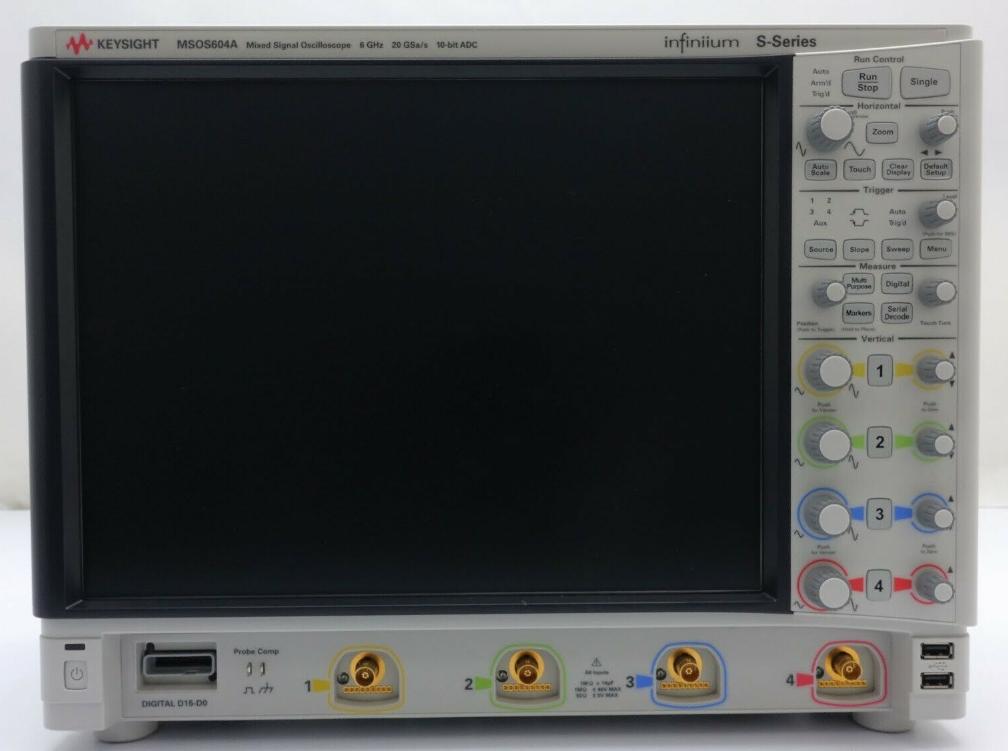 MSOS604A 高清晰度示波器
